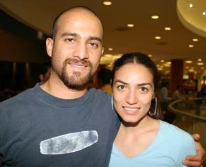 Miguel Hadad y Tania Gutiérrez.