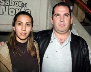 Alberto Seijas y Samantha de Seijas.