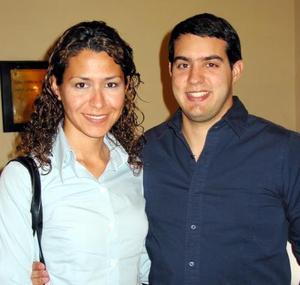 Claudia Ramírez y Arturo Herrera Saldaña.