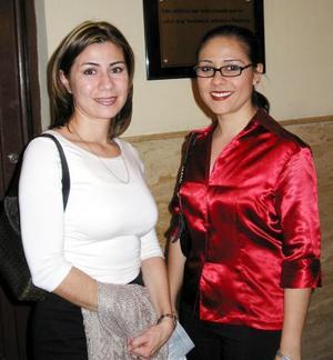 Corina Gutiérrez Corona y Margarita Jáuregui
