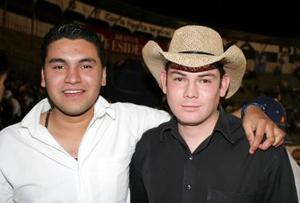 Jesús Sánchez  y Héctor Favela