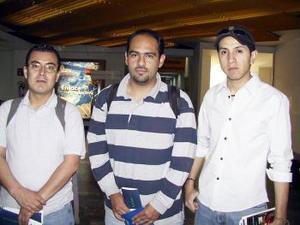 <b> <u> 18 de marzo </u></b> <p> Con destino a Tijuana para asistir a un congreso viajaron Marco Antonio Vargas, Ángel Ordoñez y Héctor Villarreal.