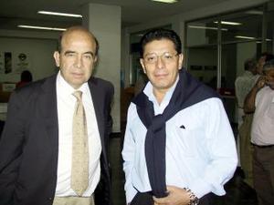 <b> <u> 20 de marzo </u></b> <p> Arturo Carrasco y Manuel Cerrón arribaron a la Ciudad de México.