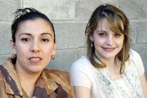 <u><b>19 de marzo </u> </b> <p>  María Elena Medina y Angélica de Habib
