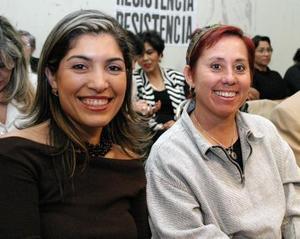 Ana Sofía García Camil y Ionne Villarreal.