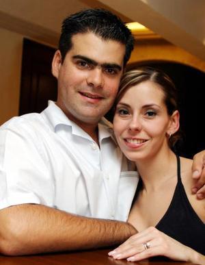Ángel y Sabrina Sobrino.