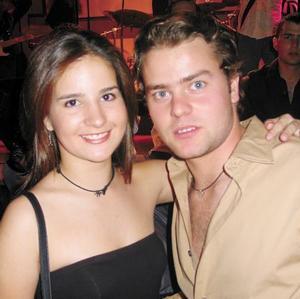 Mariana Peña y Toño Villalobos.