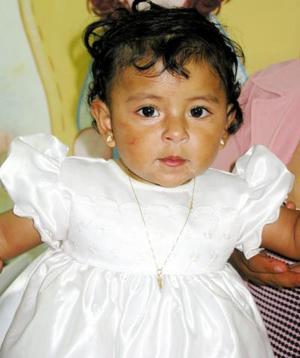 Alejandra Sánchez cumplió un año de vida y por tal motivo la festejaron sus papás.