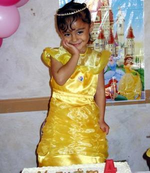 María Fernanda Vázquez Martínez festejó su cuarto cumpleaños, con una divertida fiesta infantil.