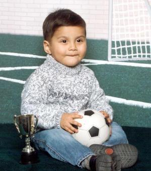Niño Christian Gerardo Rivas Guzmán celebró su segundo cumpleaños el domingo 14 de marzo con una divertida fiesta infantil.