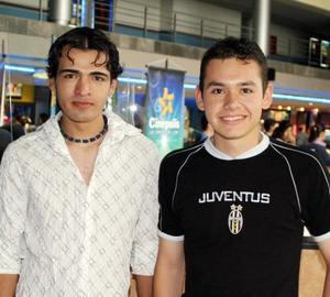 Gerardo García y Tony Elizondo.
