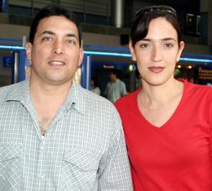 Héctor Garza Tijerina y Ana Garza Tijerina.