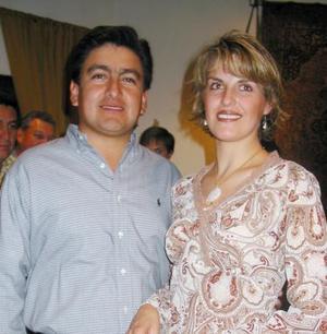 Mario Calderón  y Ángeles de Calderón