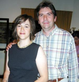 Marisa y Alberto Dueñas.