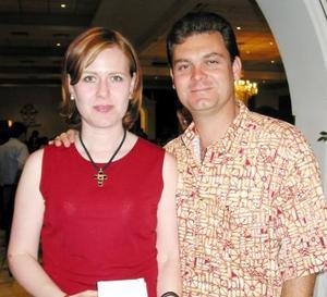 Naima Murra de Mexsen y Camilo Mexsen.