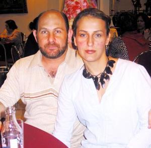 Gerardo Mafud e Ivette Collier de Mafud