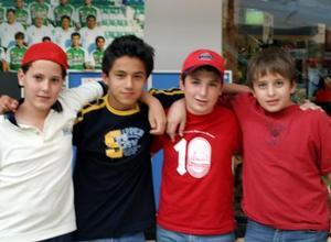 Javier Veyán, Lalo, Pablo Sáenz y Luis Calzada.