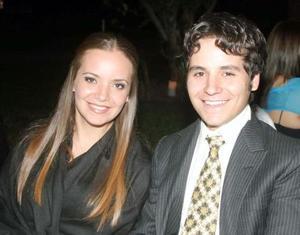 Marisa y Alejandro del Bosque.