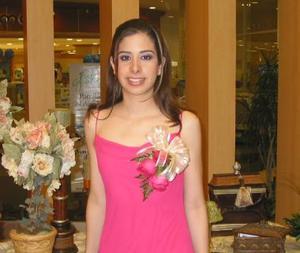 <b><u>25 de marzo </b></u><p>   Lic. Vanessa Blando Torres, en su despedida de soltera.