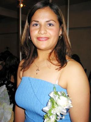 Leticia Bernal Frayre captada en su despedida de soltera