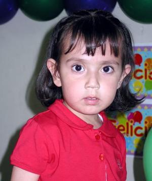<b><u>25 de marzo</b></u><p> Natalia Estefanía Rojo Hernández cumplió dos años de vida y la festejaron en días pasados.