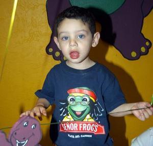 <b><u>26 de marzo</b></u><p> Carlos Alejandro González Vargas festejó su cumpleaños con una divertida fiesta infantil.