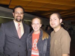 Maija Telsola fue despedida por Francisco Vicke y Christian Mijares, antes de viajar al Distrito Federal.