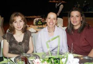 <b><u>27 de marzo </b><u><p> Bedia de Cepeda, Amelia de González y Laura de Cruz.