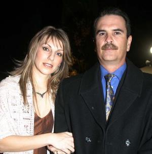 Manuel Algara y Astrid Martínez de Algara.