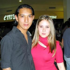 Iván Saavedra y Blanca Stella.