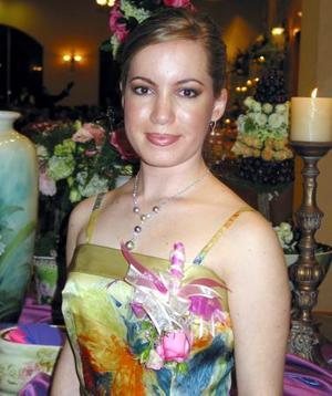 Claudia Valdés García contraerá matrimonio con Rodrigo E. Pérez Garza.