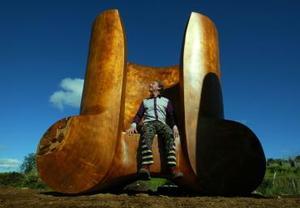 Los Gemelos Gigantes de Nueva Zelanda  fueron captados en esta fotografía.