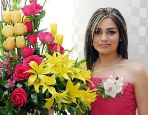 <u><b>03 de abril </b></u> <p> Nora Alba Acosta en su festejo de despedida