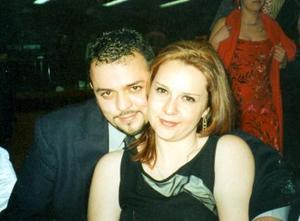 Jorge Torres Bernal y Gabriela Gancz Kahan contrajeron matrimonio el 03 de abril.
