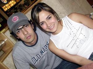 Alfonso Campa y Daniela Rubio.