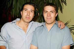 Alfredo Magollan Rosales y Alfredo Acevedo Lozano.