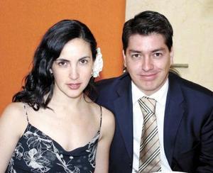 Bárbara y Daniel Calvillo.