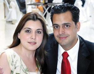Paola González y Armando Martínez.