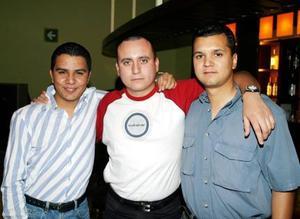<b><u> 05 abril </b></u><p> Hosam David Abam, Ituriel Meléndez y Sergio Rodríguez.