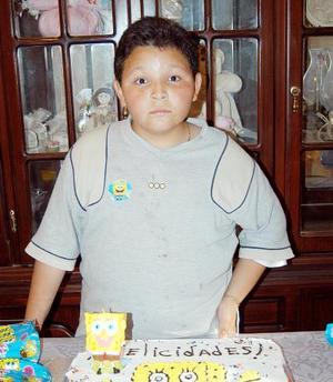 Benjamín Adrián Ortiz Sánchez celebró su cumpleaños con un agradable convivio que le organizaron.