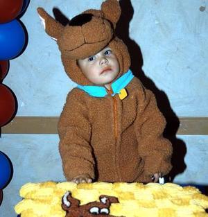 Jorge Eduardo Martín del Campo Aguilar festejó su segundo cumpleaños de vida con una divertida fiesta infantil.