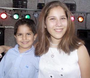 Juan Alberto y Fernanda Salazar Cerra.