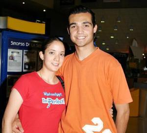 Lupita Rivera y Silverio Martínez