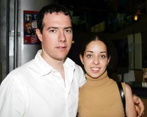 Eduardo Zermeño y Daniela Valencia