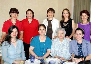 Damas integrantes del Club Rotario Torreón.