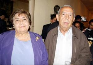 Alicia Pérez y Felipe de Jesús Galindo.