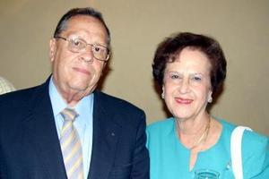 Leopoldo García Flores y Georgina Gutiérrez García.
