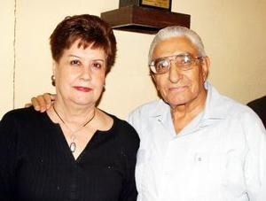 Lilia Sotomayor de Aguilar y Ángel Aguilar Gutiérrez.