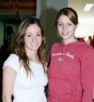 Claudia Escobar y Ana Laura Durán.