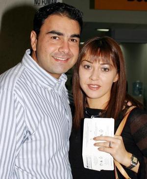 Fernando Jiacamán y Liliana Gilio de Jiacamán.